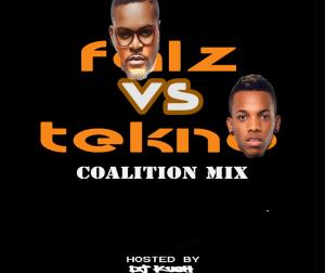 DJ Kush - (Coalition Mix)  Falz vs Tekno